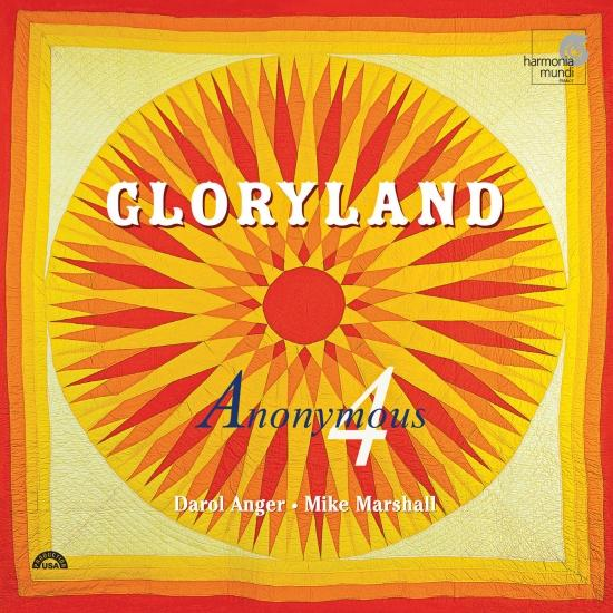 Cover Gloryland: Folk Songs, Spirituals, Gospel hymns of Hope & Glory