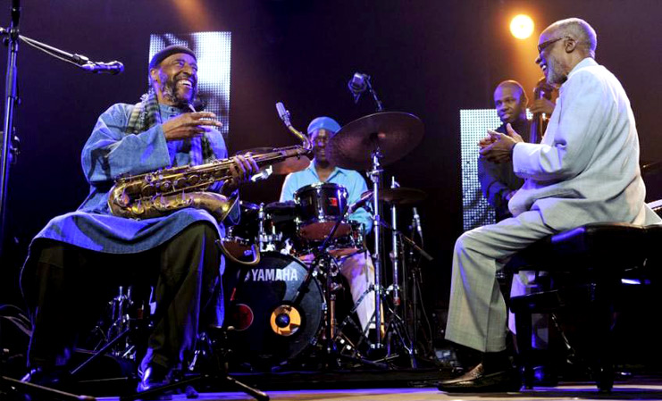 Review Ahmad Jamal & Yusef Lateef - Live at the Olympia