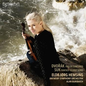 Cover Dvořák & Suk: Works for Violin & Orchestra