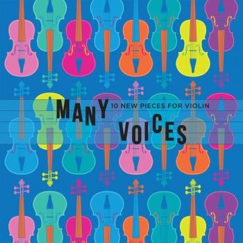 Cover Many Voices: 10 New Pieces for Violin