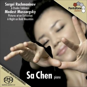 Cover Rachmaninov: 6 Etudes Tableaux / Mussorgsky: Pictures at an Exhibition