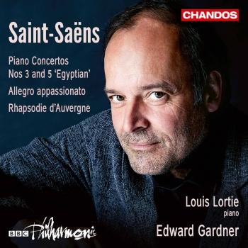 Cover Saint-Saëns: Piano Concertos Nos. 3, 5 & Other Works