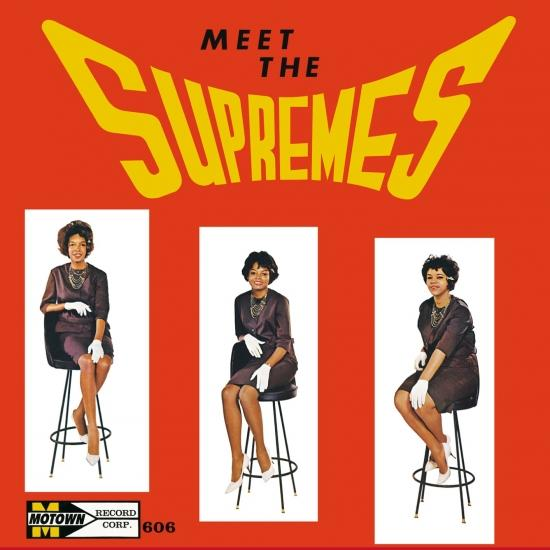 Cover Meet The Supremes