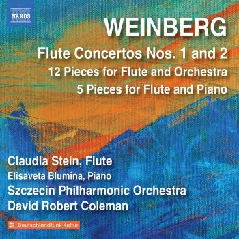 Cover Weinberg: Flute Concertos & Other Works
