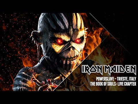 Video Iron Maiden - Powerslave (The Book Of Souls: Live Chapter)