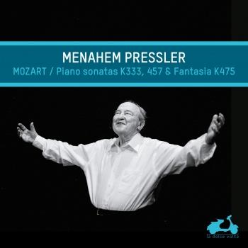 Cover Menahem Pressler Performs Mozart