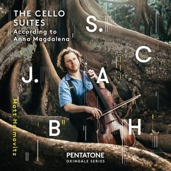 Cover J.S. Bach: The Cello Suites According to Anna Magdalena