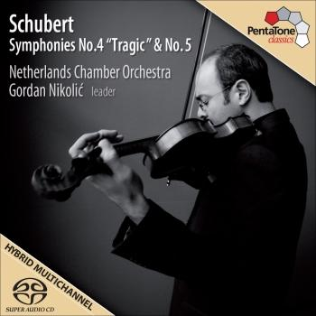 Cover Schubert, F.: Symphonies No. 4 Tragic and No. 5