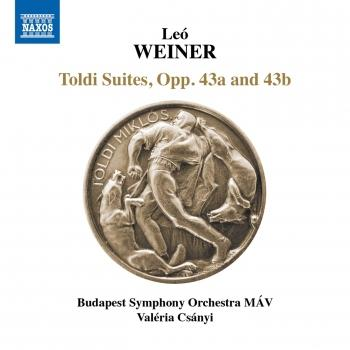Cover Weiner: Toldi Suites, Opp. 43a & 43b