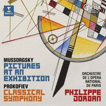 Cover Mussorgsky: Pictures at an Exhibition - Prokofiev: Symphony No. 1, 'Classical'