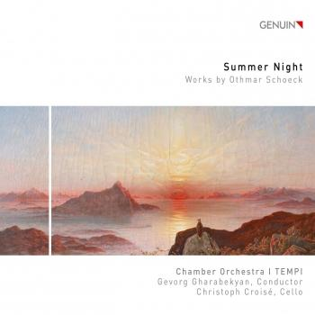 Cover Schoeck: Summer Night