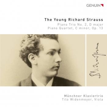 Cover The Young Richard Strauss