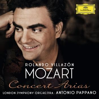 Cover Mozart: Concert Arias for Tenor and Orchestra