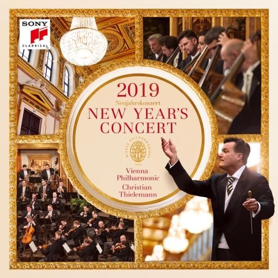 Cover New Year's Concert 2019 / Neujahrskonzert 2019 / Concert du Nouvel An 2019