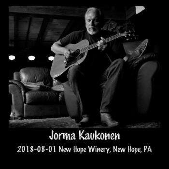 Cover 2018-08-01 New Hope Winery, New Hope, PA (Live)