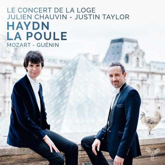 Cover Haydn : Symphony No. 83 'La Poule', Mozart: Piano Concerto No. 17, Guénin: Symphony in D Minor, Op. 4