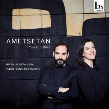 Cover Ametsetan: Basque Songs